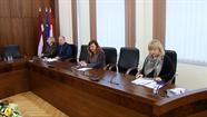 Preses konferencē žurnālisti interesējās par lielākajiem projektiem Daugavpilī