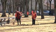 Sāksies pilsētas pavasara uzkopšana