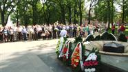 Daugavpilī godināja pilsētas atbrīvotāju piemiņu
