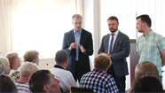 """Tikšanās ar """"Daugavpils satiksme"""" darbiniekiem: galvenā problēma ir dialoga un savstarpējās sapratnes trūkums"""