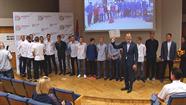 Daugavpils domē apbalvoja Latvijas olimpiādes uzvarētājus un godalgoto vietu ieguvējus