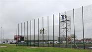 Stadionā Esplanādē turpinās rekonstrukciju darbi