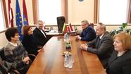 Daugavpili apmeklēja delegācija no Panevēžas
