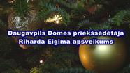 Daugavpils Domes priekšsēdētāja Riharda Eigima apsveikums