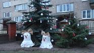 Komisija vērtēja skanīgo Ziemassvētku noformējumu
