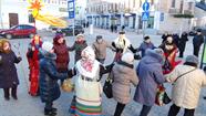 """12. janvārī BKC kolektīvs rīkoja ielu pasākumu ,,Koļadi"""""""