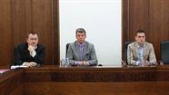 Preses konferencē žurnālistus informēja par dažādām pašvaldības aktivitātēm un atbildēja uz jautājumiem