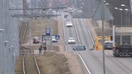 Aktivizējās jaunā tramvaja sliežu posma būvniecība