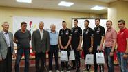 Daugavpilī pirmo reizi notiek Eiropas Sudraba līgas sacensības volejbolā