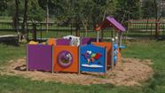 Daugavpils bērnudārzos tiek uzstādīts jauns rotaļu laukumu aprīkojums