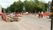 Tuvojas beigām remontdarbi Viestura ielas posmā no 18. Novembra līdz