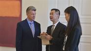 Ar delegāciju no Harbinas apsprieda sadarbības paplašināšanu izglītībā un medicīnā